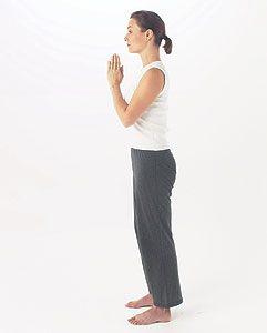 Position 12: Posture de salutation