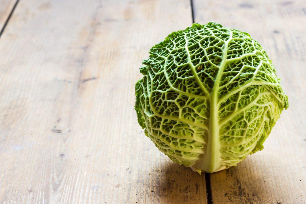 Les feuilles de chou vert, un super aliment tendance