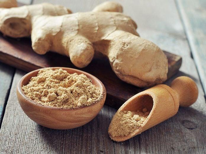 Le gingembre est un superaliment qui soulage l'arthrite et les articulations.