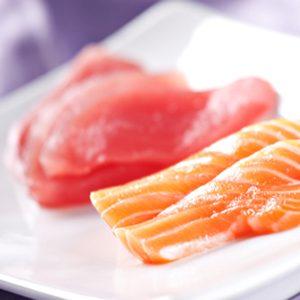 1. Le saumon et les aliments à base d'oméga-3