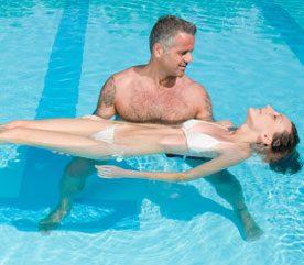 1. Suivez des cours de natation