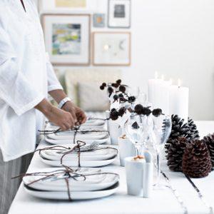 5. Dressez la table avec art et imagination