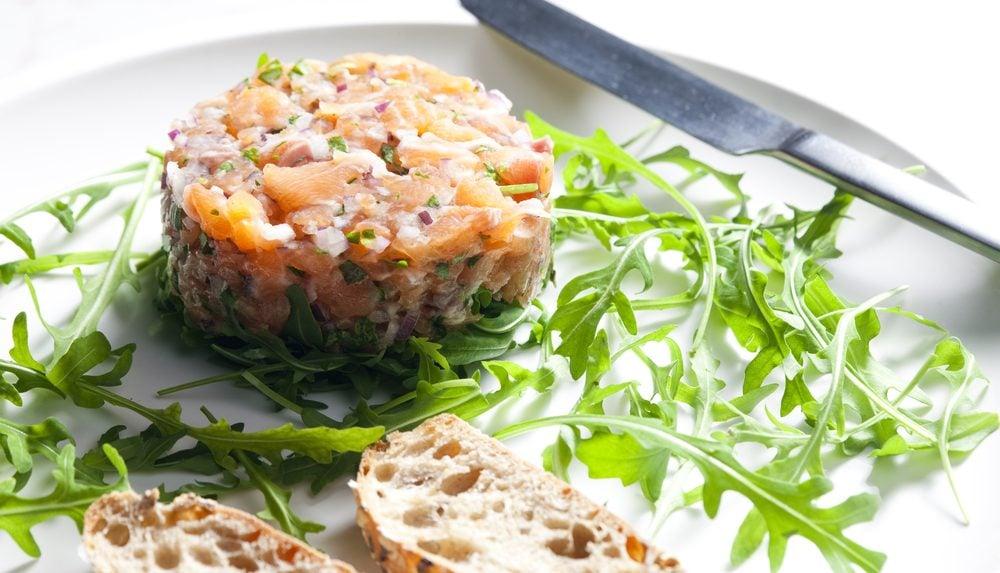 Un tartare de saumon.