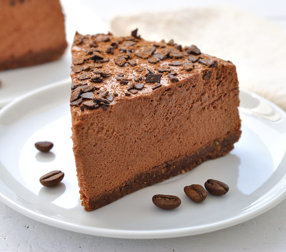 Une torte au chocolat santé, parmi les meilleures recettes de desserts santé au chocolat.