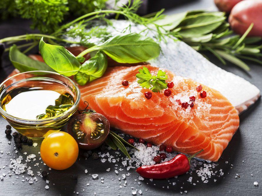 Les poissons gras: pour une peau éclatante