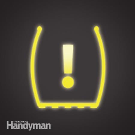 Que faire si le témoin d'avertissement TPMS (Tire Pressure Monitoring System) s'allume?