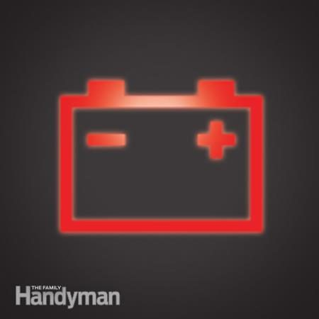 Que faire si le témoin d'avertissement de la batterie s'allume?