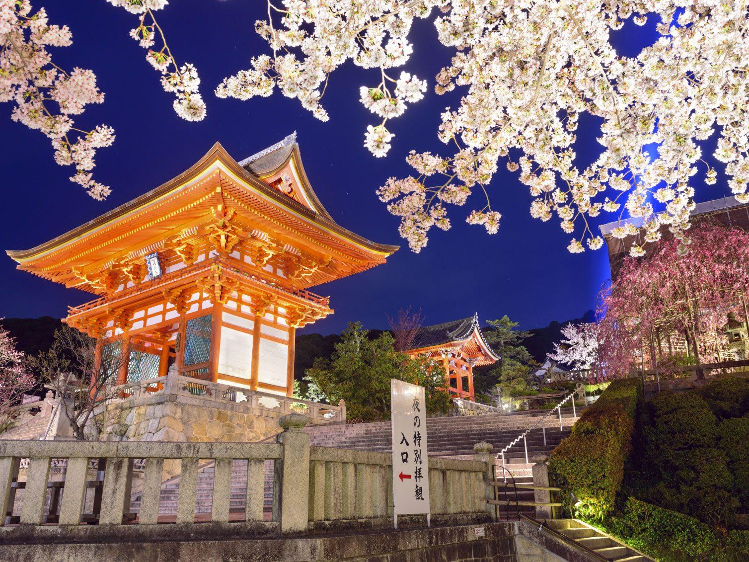 Visiter les temples et lieux de pèlerinage à Kyoto