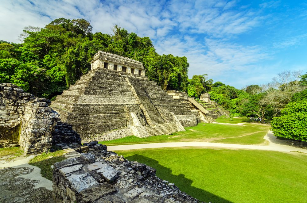6. Palenque, Mexique