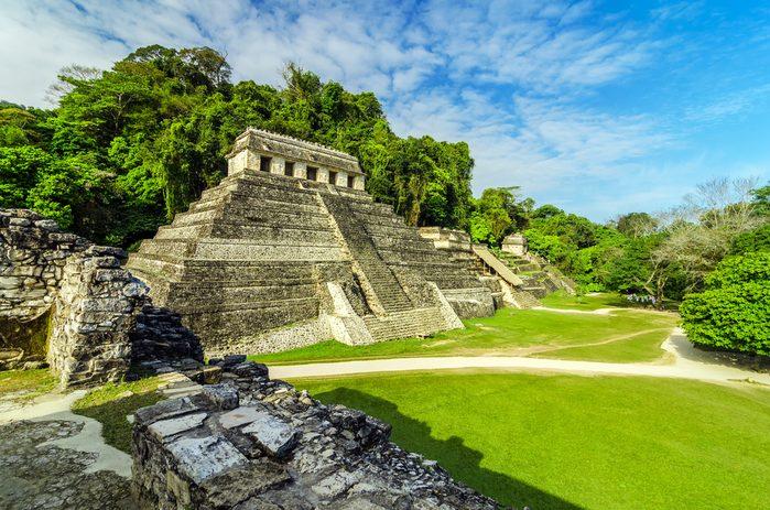 6. Palenque, Mexique
