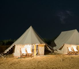 Glamping sans frontières