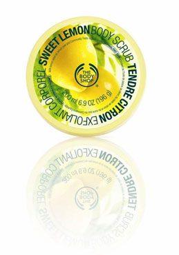La collection Tendre Citron par The Body Shop