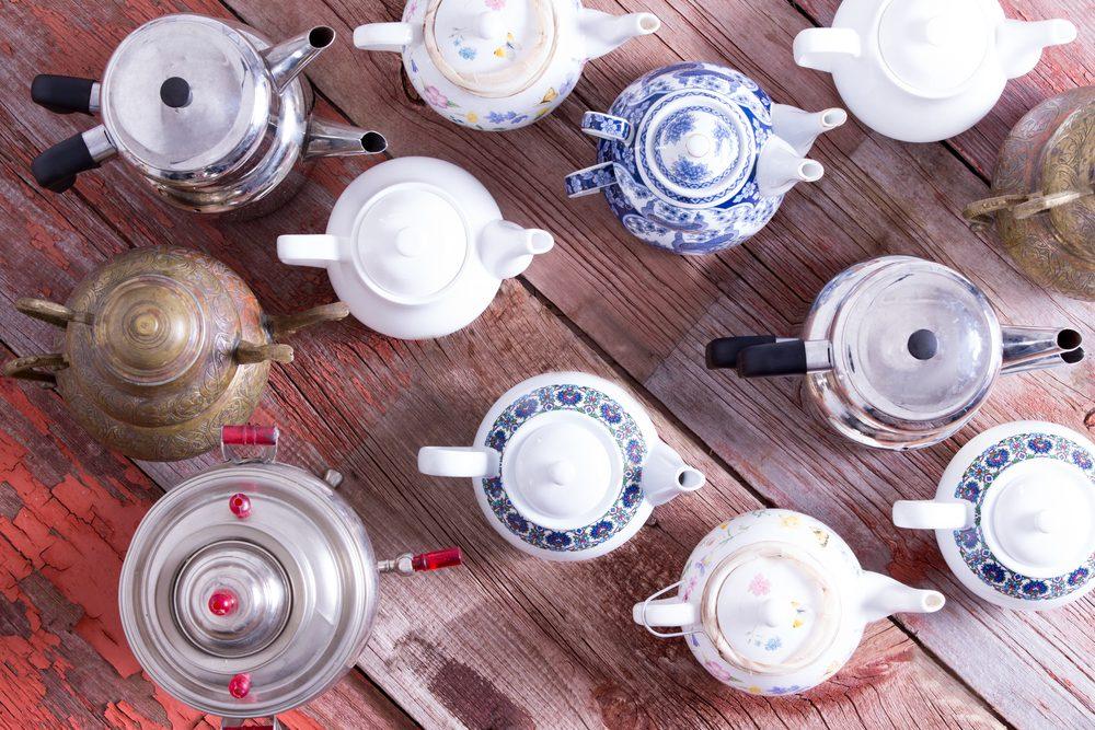 Des thés énergisants pour un déjeuner sain.