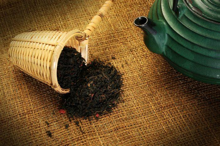 Buvez du thé noir riche en antioxydants