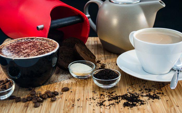 12) Pour plus d'énergie, le thé ou le café?