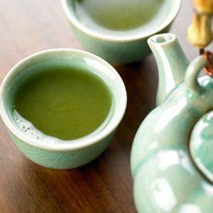 2. Thé vert