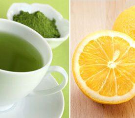 5. Pour protéger davantage votre cœur, combinez thé vert et jus de citron