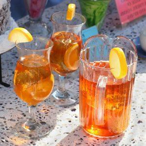 7. Mélanges à thé glacé ou à thé aromatisé glacé