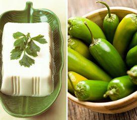 4. Pour atténuer l'inflammation, combinez tofu et jalapeño