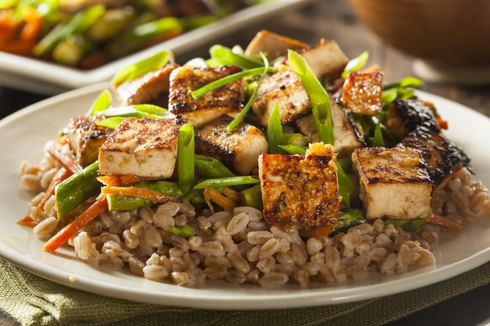 Le tofu (soya), une bonne source de protéines pour les végétariens