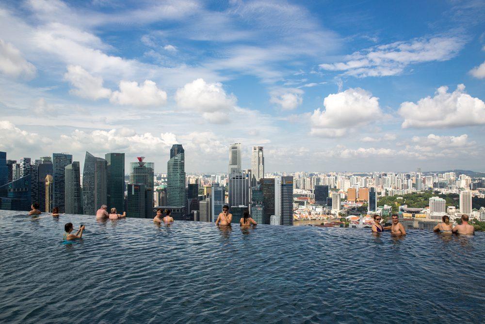 Toit du monde #5: la piscine la plus surélevée