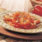 Tomates séchées aux herbes dans l'huile