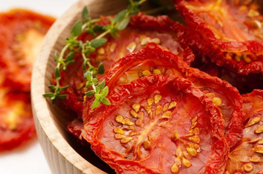 Source de protéines végétales : les tomates.