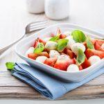 Salade de tomates et de mozzarella