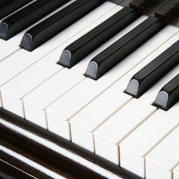 Nettoyer les touches d'un piano