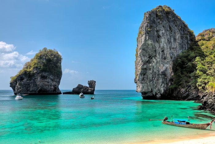 Top 10 des plus belles plages de la Thaïlande: 1. La baie de Maya
