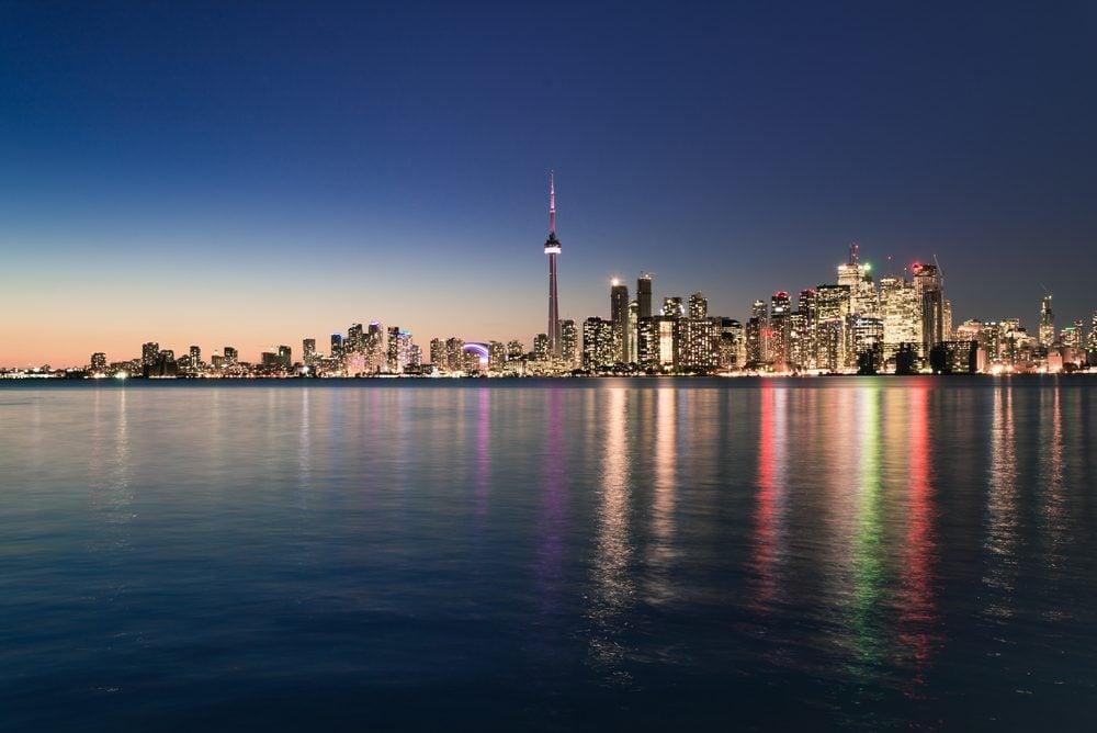 La tour du CN, Toronto.