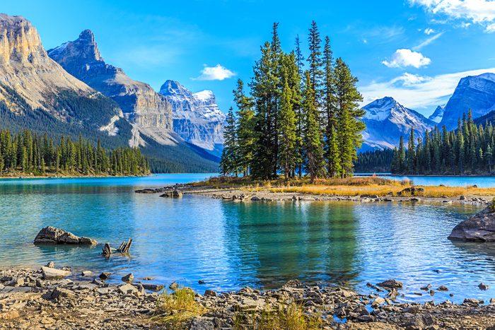 Croisière en bateau sur le lac Maligne  - Parc national de Jasper
