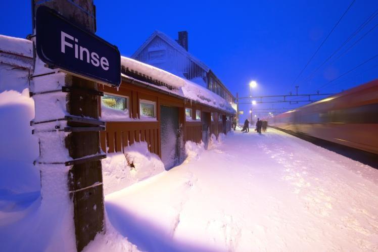10. Le Bergen Railway