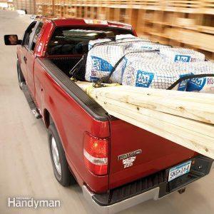Comment transporter du matériel en pick-up ?