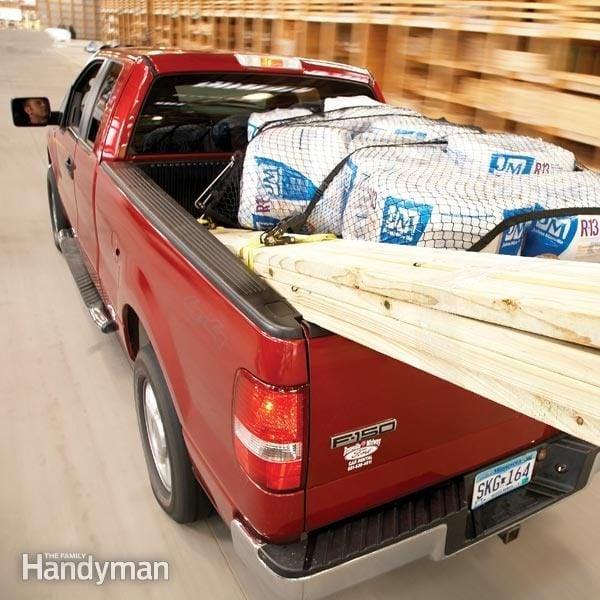 Transporter du matériel en pick-up: la sécurité avant tout