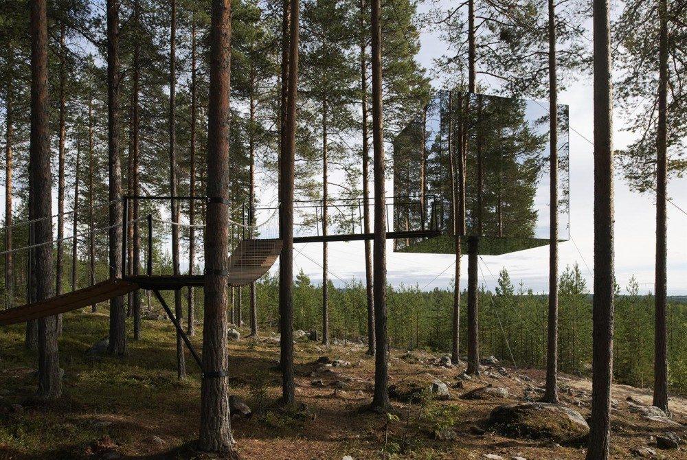 Le Treehotel, à Harads, en Suède