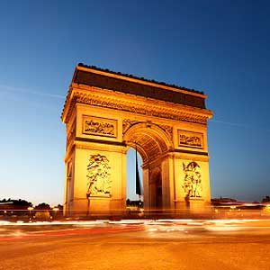 6. L'Arc de Triomphe: l'un des meilleurs sites touristiques de Paris
