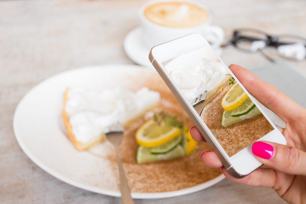 4. Photographiez vos aliments pour maigrir