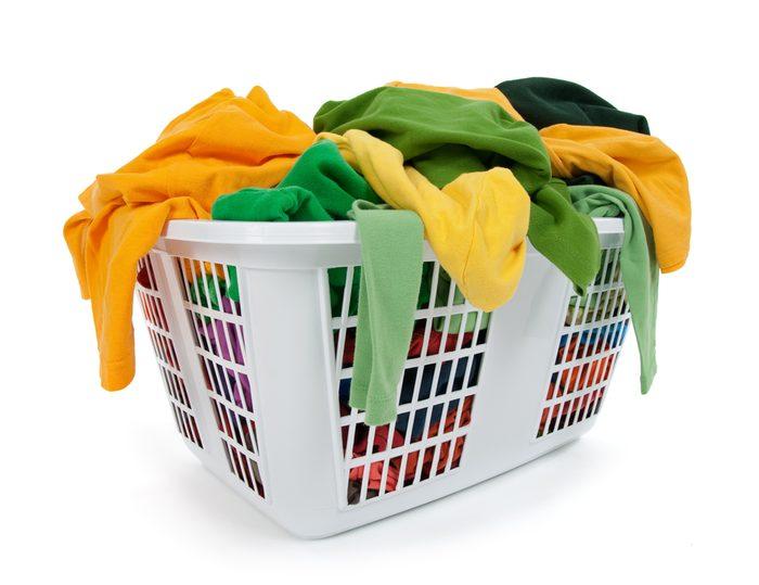 Moins de vêtements.... Moins de lessive!
