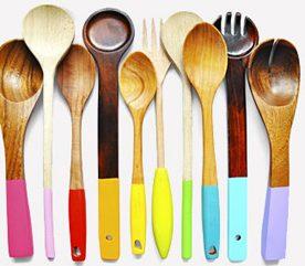 2. Des ustensiles de cuisine aux couleurs éclatantes
