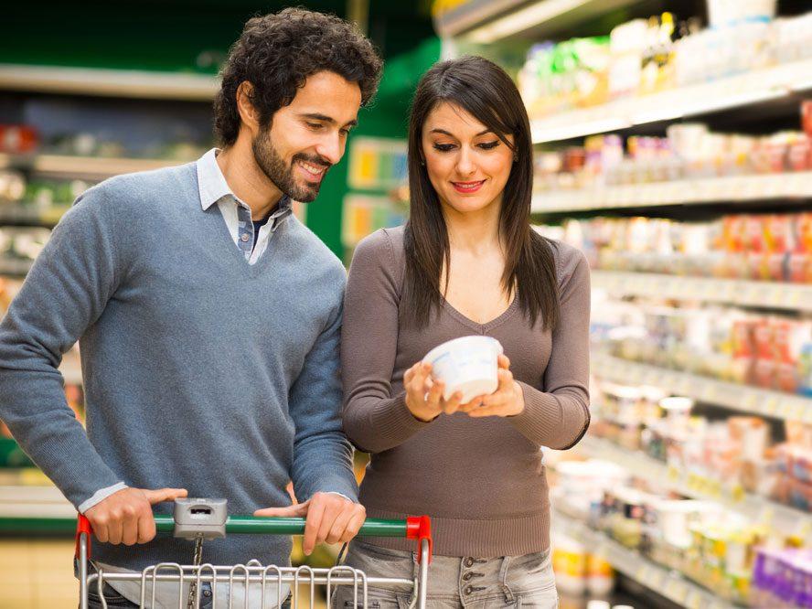 Comment lire la valeur nutritive des aliments?