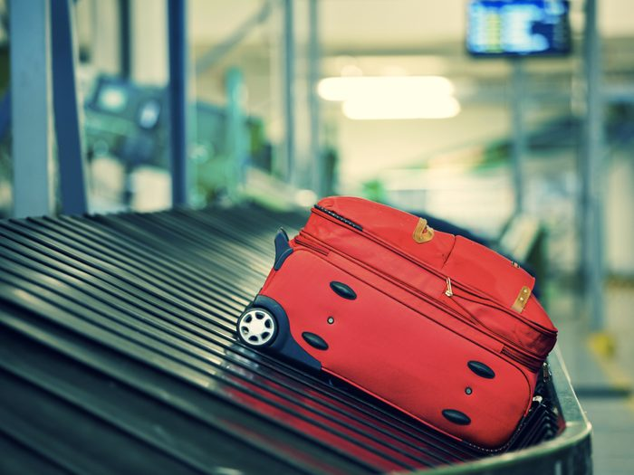 Perdre ses bagages