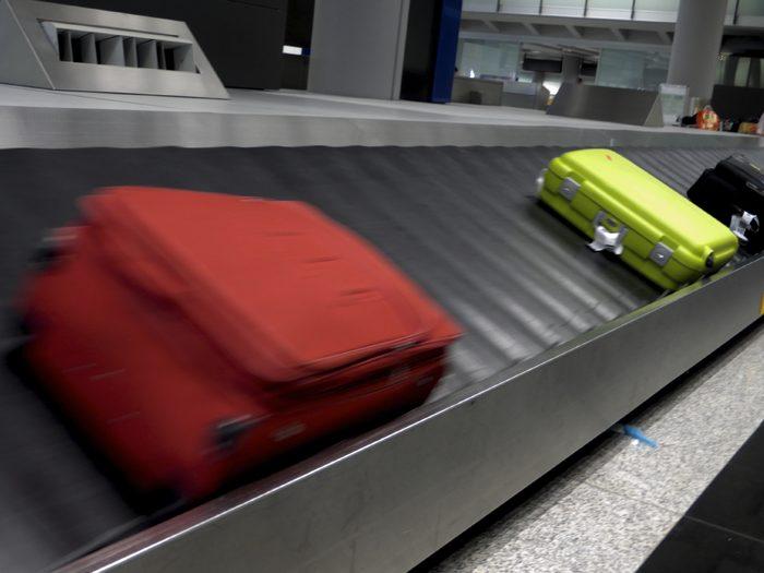 Des millions de bagages égarés!