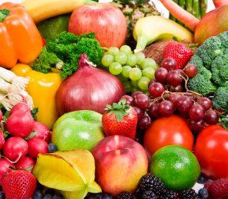1. Les fruits, les légumes et les légumineuses