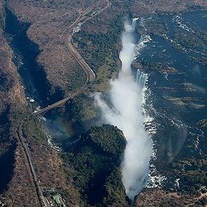 9. Les chutes Victoria, Zambie/Zimbabwe