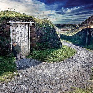 Le lieu historique national de L'Anse aux Meadows, à Terre-Neuve