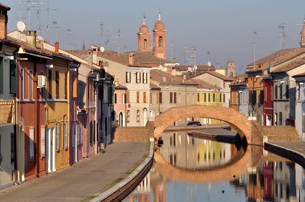 Une ville européenne sublime: Ferrare, Italie