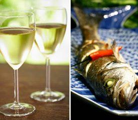 8. Pour accroître votre absorption d'acides gras oméga-3, combinez vin et poisson