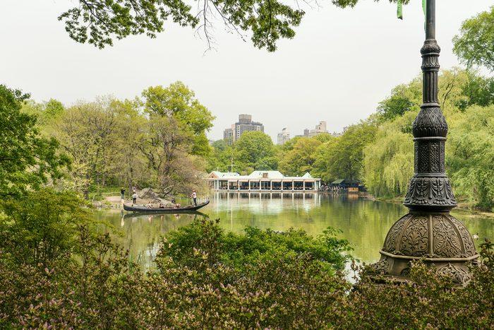 Visitez les parcs de la ville
