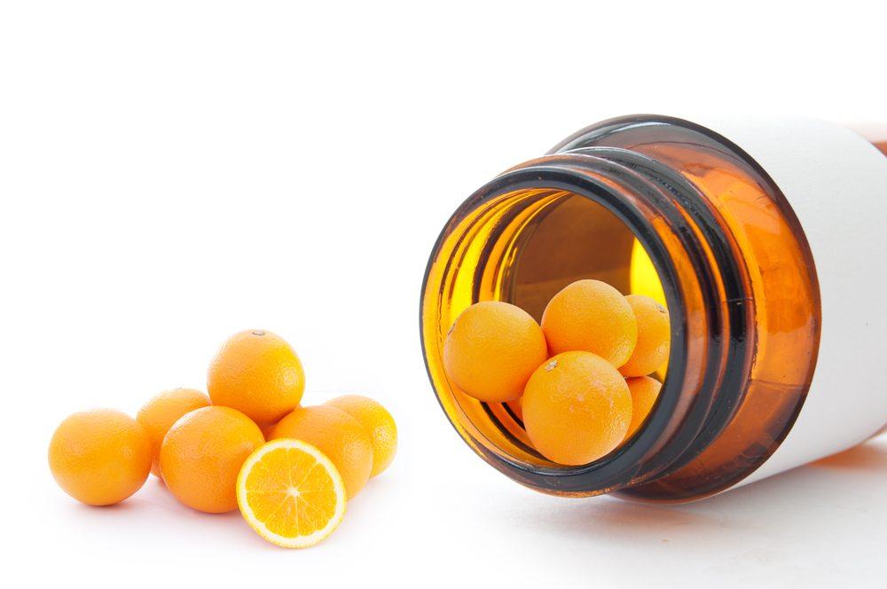 L'efficacité des suppléments de vitamine C